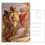 Detail of Aeneas, from Venus's Farewell to Aeneas by Giovanni Battista Tiepolo