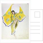 Costume design for Mikhail Fokin's ballet 'Daphnis and Chloe', 1912 by Leon Bakst
