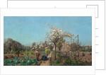 The Garden in Spring, 1885 by Adrien Louis Demont