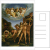 The Battle of the Gods and Giants by Cesare (attr. to) Rossetti