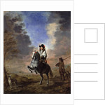 Equestrian Portrait of a Man with a Page by Thomas de Keyser