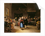 Wedding Dance in a Tavern by Gerrit Lundens