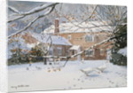 Farmhouse in the Snow, 2011 by Lucy Willis