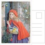 Little Red Riding Hood, 1862 by Isabel Oakley Naftel