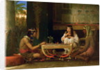 Egyptian Chess Players, 1865 by Lawrence Alma-Tadema