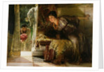 Welcome Footsteps, 1883 by Lawrence Alma-Tadema
