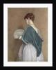 Woman with a Fan, 1871 by John Dawson Watson