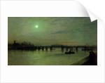 Battersea Bridge, 1885 by John Atkinson Grimshaw