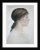 Isabel Margaret Jordan, 1919 by Arthur Joseph Gaskin
