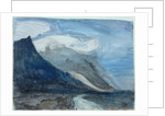 Moonlight, Chamonix, 1866 by John Ruskin