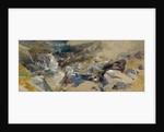 A Rocky Stream in Scotland by Thomas Miles II Richardson