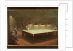 Billiard Match at Thurston, 1930 by English School