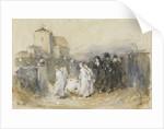 Study for 'Her First Born, Horsham Churchyard', 1874 by Frank Holl