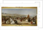 """Boulogne Pier, 1870 by Matthew """"Matt"""" Somerville Morgan"""