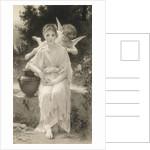 The First Whisper of Love, after Bouguereau by John Douglas Miller