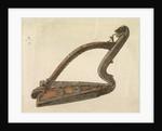Irish harp, 1889 by Edward Coley Burne-Jones