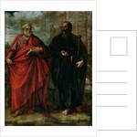 St. Peter and St. Paul, 1577 by Juan Fernandez de Navarrete