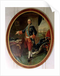 Portrait of Caballero Teodoro de Croix Viceroy of Peru and Chile by Spanish School