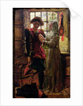 Claudio and Isabella by William Holman Hunt