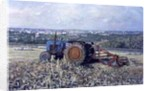 Harvesting Tractor, 1995 by Martin Decent