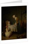 Grace Before the Meal, 1744 by Jean-Baptiste Simeon Chardin