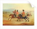 Chilean Riders, c.1835-36 by Johann Moritz Rugendas