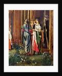The Sleep of King Arthur in Avalon 1881-98 by Edward Coley Burne-Jones