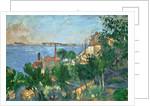 La Mer à L'Estaque, July 1876 by Paul Cezanne