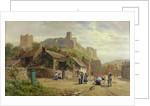 Children Watching a Wheelwright by Robert Gallon