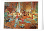 Drawing Room with Venetian Glass by Susan Ryder