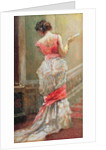 Lady with a Fan by Albert Jnr. Ludovici