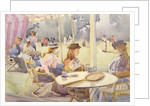 The Tennis Party by Tom Simpson