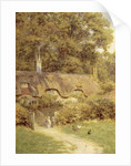 Cottage at Farringford, Isle of Wight by Helen Allingham