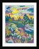 Blooming River Bank by Marta Martonfi-Benke