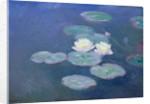 Waterlilies, Evening by Claude Monet