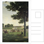 The Open Space in Front of the Grand Trianon, 1810 by Jean and Vernet Antoine Bidauld