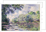 The Seine at Giverny, 1885 by Claude Monet
