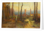The Mill Stream, Montclair, New Jersey, c.1888 by George Snr. Inness