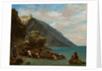 View of Tangier from the Seashore, 1856-8 by Ferdinand Victor Eugene Delacroix