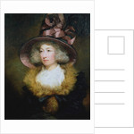 Portrait of Marie Dolignon 1789 by James Northcote