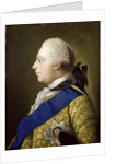 Portrait of George III by Johann Zoffany