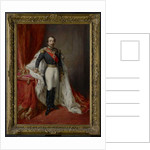 Portrait of Emperor Napoleon III by Franz Xaver Winterhalter
