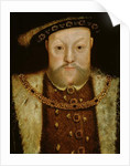 Portrait of Henry VIII by Hans Holbein the Younger