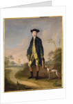 Huntsman with a Whippet by Edward Haytley
