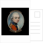 Portrait miniature of an Officer of a Royal regiment of Foot by George Engleheart