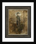 Lady in a hat, c.1915-20 by Ambrose McEvoy