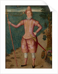 Portrait of an Explorer, 1594 by English School