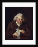 Portrait of Erasmus Darwin, c.1770 by Joseph Wright of Derby