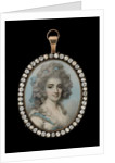 Portrait miniature of Harriet Paxton, c.1788 by George Engleheart