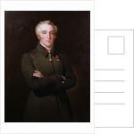 Portrait of Arthur Wellesley, 1st Duke of Wellington wearing the Order of the Golden Fleece by Henry Perronet Briggs